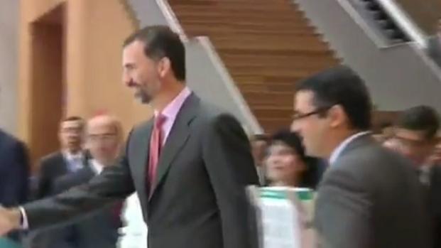 Felipe VI coincide con Iñaki Urdangarín