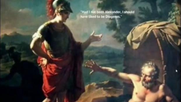 Diógenes mantuvo una relación singular con los perros