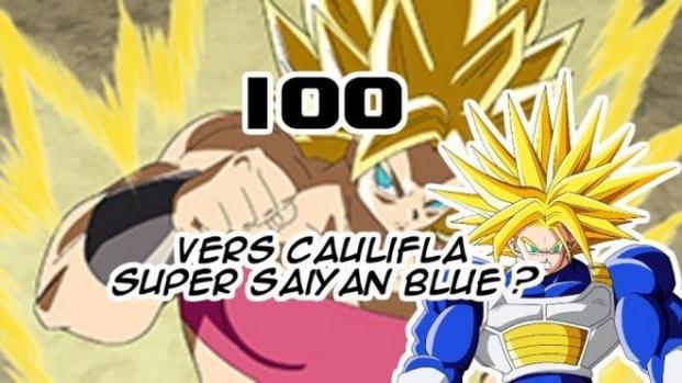 Officiel Dragon Ball Super 100 : Caulifla se la joue Trunks du futur !