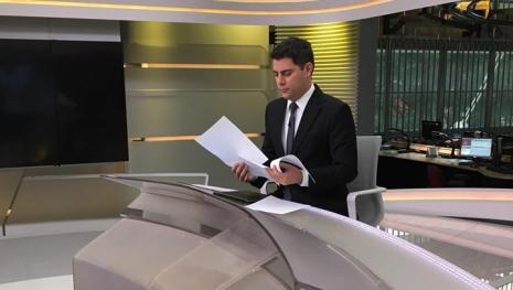 Evaristo Costa irá sair da Rede Globo