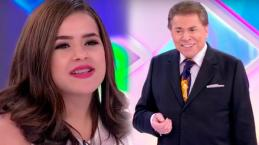 Maísa Silva volta ao SBT e bota Silvio Santos em seu devido lugar