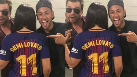 Ciumenta? Marquezine dá like em comentário na foto de Neymar com Demi Lovato