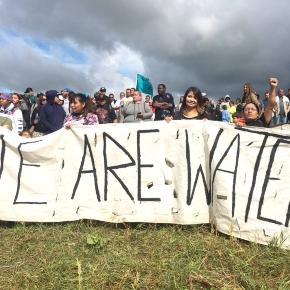 Native American water protectors have been involved with peaceful protests of DAPL for months now, with no end in sight. They have been hit with rubber bullets, have been attacked by police dogs, and have been sprayed with water cannons.