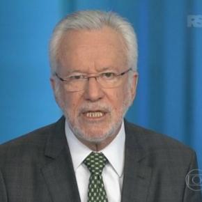 Alexandre Garcia - Foto/Reprodução: Globo