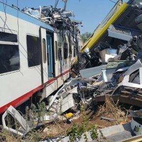 Sale a 27 il bilancio dei morti del grave incidente ferroviario di Bari, ritrovata scatola nera, si ipotizza errore umano